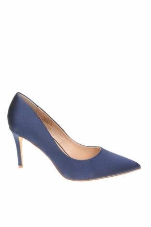 Γυναικεία παπούτσια Jonak, Μέγεθος 38, Χρώμα Μπλέ, Κλωστοϋφαντουργικά προϊόντα, Τιμή 24,90€
