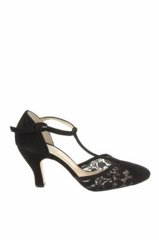Дамски обувки Repetto, Размер 39, Цвят Черен, Естествен велур, Цена 158,95лв.