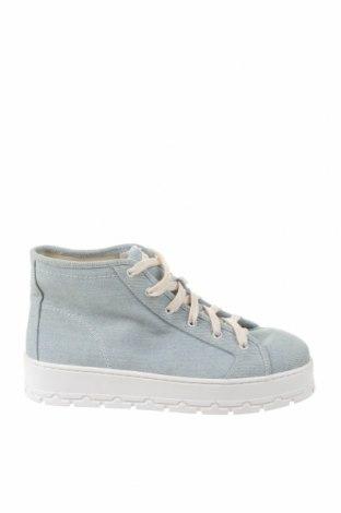Дамски обувки Zara, Размер 39, Цвят Син, Текстил, Цена 37,92лв.