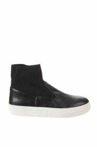Încălțăminte de damă Zara, Mărime 39, Culoare Negru, Piele naturală, textil, Preț 244,25 Lei