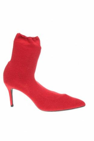 Dámské boty  Zara, Velikost 40, Barva Červená, Textile , Cena  452,00Kč