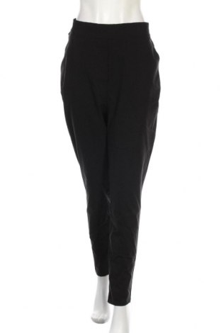 Дамски панталон Boohoo, Размер XL, Цвят Черен, 75% вискоза, 20% полиестер, 5% еластан, Цена 44,25лв.