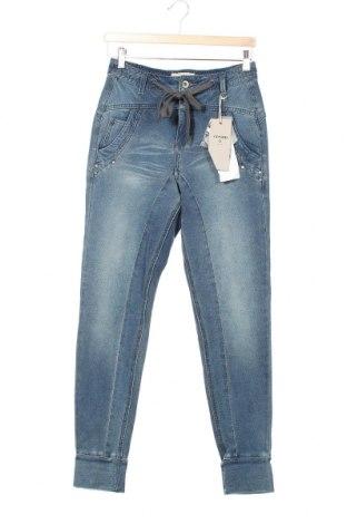 Дамски дънки Cream, Размер XS, Цвят Син, 95% памук, 5% еластан, Цена 96,75лв.