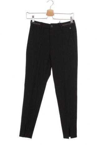 Pantaloni de femei Freeman T. Porter, Mărime XS, Culoare Negru, 62% poliester, 33% viscoză, 5% elastan, Preț 54,58 Lei