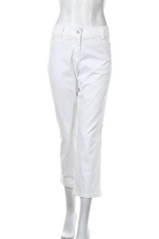Dámské kalhoty  Marc Cain Sports, Velikost L, Barva Bílá, 97% bavlna, 3% elastan, Cena  980,00Kč