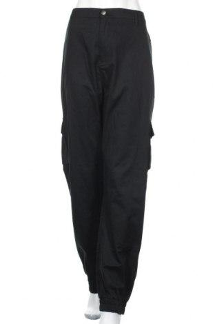 Дамски панталон Missguided, Размер 3XL, Цвят Черен, Памук, Цена 44,25лв.
