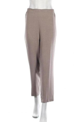 Дамски панталон New Fashion, Размер XXL, Цвят Бежов, 85% полиестер, 15% вискоза, Цена 48,00лв.