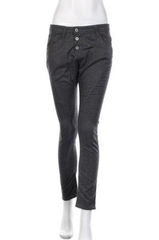 Pantaloni de femei Please, Mărime M, Culoare Gri, 65% poliester, 32% viscoză, 3% elastan, Preț 152,53 Lei