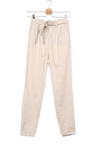 Дамски панталон S.Oliver, Размер XXS, Цвят Екрю, 49% памук, 48% модал, 3% еластан, Цена 64,50лв.