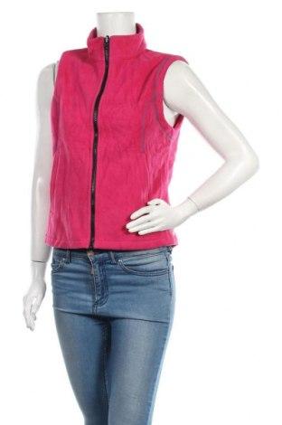 Дамски поларен елек Aigle, Размер M, Цвят Розов, 100% полиамид, Цена 45,68лв.