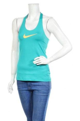 Дамски потник Nike, Размер S, Цвят Зелен, Полиестер, еластан, Цена 41,25лв.