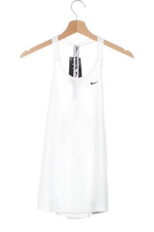 Γυναικείο αμάνικο μπλουζάκι Nike, Μέγεθος XS, Χρώμα Λευκό, Πολυεστέρας, Τιμή 22,81€