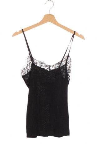 Дамски потник Soaked In Luxury, Размер XS, Цвят Черен, 90% вискоза, 10% естествена кожа, Цена 18,00лв.