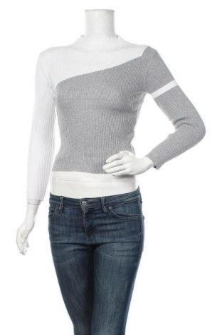 Дамски пуловер, Размер S, Цвят Бял, 65% памук, 35% полиестер, Цена 24,15лв.