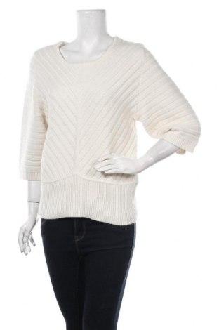Дамски пуловер A.N.A., Размер M, Цвят Бял, Акрил, Цена 6,83лв.