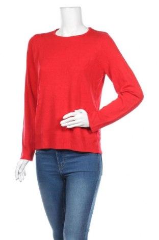 Дамски пуловер Adagio, Размер L, Цвят Червен, Акрил, Цена 22,31лв.