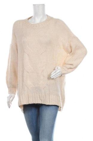 Дамски пуловер Aerie, Размер S, Цвят Бежов, 40% полиамид, 35% акрил, 25% вълна, Цена 24,15лв.