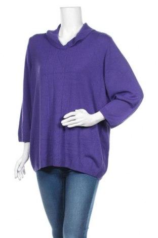 Дамски пуловер Alia, Размер XL, Цвят Лилав, Акрил, Цена 22,68лв.