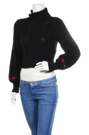 Дамски пуловер Alice McCall, Размер XS, Цвят Черен, 45% полиамид, 30% памук, 25% мерино, Цена 111,75лв.