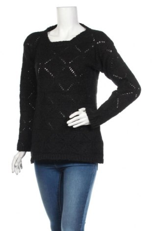 Дамски пуловер Alpha, Размер M, Цвят Черен, 38% мохер, 12% вълна, 20% акрил, 30% полиамид, Цена 9,71лв.