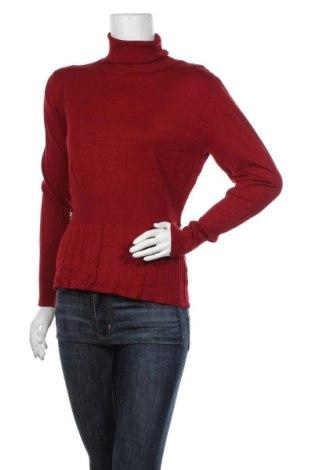 Дамски пуловер Apart, Размер L, Цвят Червен, 70% вискоза, 30% полиамид, Цена 45,36лв.