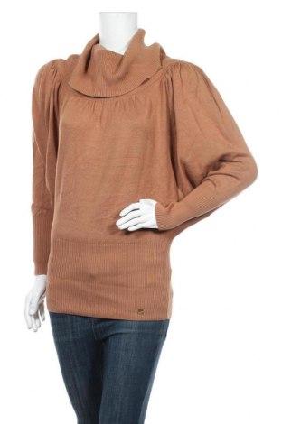 Дамски пуловер Apart, Размер S, Цвят Кафяв, 60% памук, 40% вискоза, Цена 49,56лв.