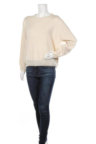 Дамски пуловер Boohoo, Размер XL, Цвят Бежов, Акрил, Цена 44,25лв.