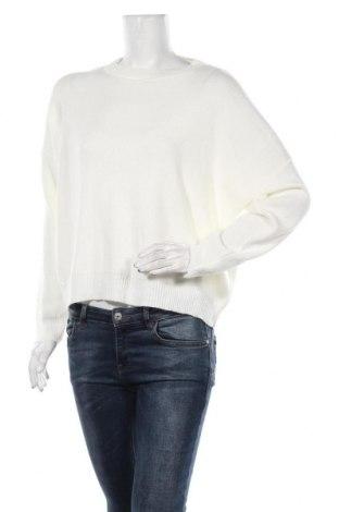 Дамски пуловер Boohoo, Размер S, Цвят Бял, Акрил, Цена 36,75лв.