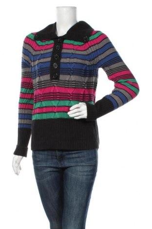 Дамски пуловер DKNY, Размер L, Цвят Многоцветен, 62% памук, 38% акрил, Цена 54,60лв.
