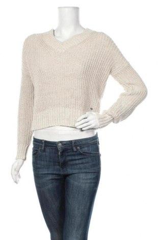 Дамски пуловер Hollister, Размер S, Цвят Бежов, 60% памук, 20% полиамид, 20% вискоза, Цена 27,30лв.