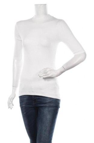 Дамски пуловер Modstrom, Размер S, Цвят Бял, 97% вискоза, 3% еластан, Цена 46,50лв.