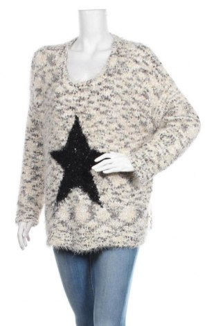 Дамски пуловер My Own, Размер XXL, Цвят Многоцветен, 66% полиестер, 34% полиамид, Цена 28,35лв.