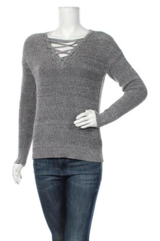 Дамски пуловер Rainbow, Размер S, Цвят Сив, 55% метални нишки, 45% вискоза, Цена 28,35лв.