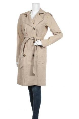 Дамски шлифер Object, Размер S, Цвят Бежов, Памук, Цена 111,75лв.