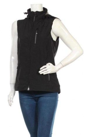 Дамски спортен елек Tec Wear, Размер S, Цвят Черен, 96% полиестер, 4% еластан, Цена 22,05лв.
