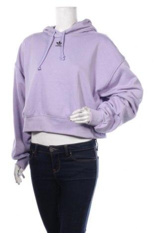 Hanorac de femei Adidas Originals, Mărime L, Culoare Mov, 70% bumbac, 30% poliester, Preț 251,65 Lei