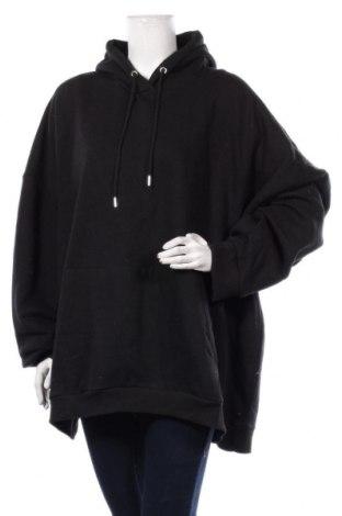 Дамски суичър Boohoo, Размер 5XL, Цвят Черен, 50% памук, 50% полиестер, Цена 36,75лв.