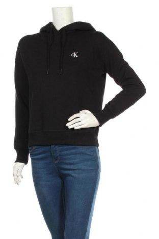 Γυναικείο φούτερ Calvin Klein Jeans, Μέγεθος S, Χρώμα Μαύρο, 50% βαμβάκι, 50% πολυεστέρας, Τιμή 49,87€