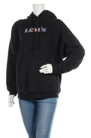 Γυναικείο φούτερ Levi's, Μέγεθος S, Χρώμα Μπλέ, Βαμβάκι, Τιμή 28,07€