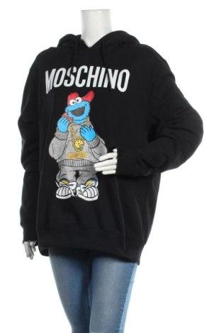 Dámská mikina  Moschino Couture, Velikost S, Barva Černá, Bavlna, Cena  4554,00Kč