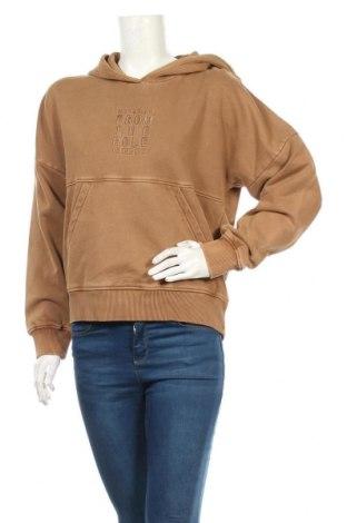 Дамски суичър Napapijri, Размер S, Цвят Кафяв, 95% памук, 5% еластан, Цена 126,75лв.