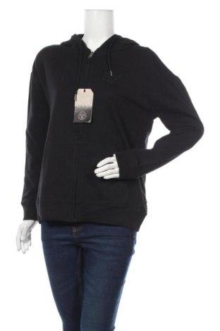Дамски суичър Napapijri, Размер S, Цвят Черен, 80% памук, 20% полиестер, Цена 126,75лв.