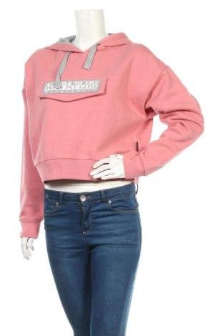 Дамски суичър Napapijri, Размер S, Цвят Розов, 90% памук, 10% полиестер, Цена 126,75лв.