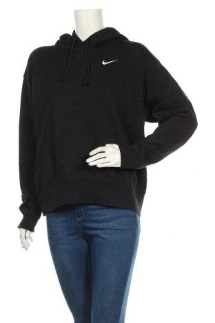 Γυναικείο φούτερ Nike, Μέγεθος S, Χρώμα Μαύρο, 80% βαμβάκι, 20% πολυεστέρας, Τιμή 32,48€