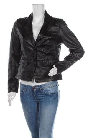 Дамско кожено сако Freaky Nation, Размер L, Цвят Черен, Естествена кожа, Цена 299,25лв.