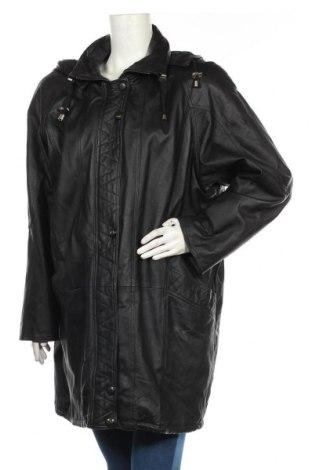 Dámská kožená bunda  Canda, Velikost XL, Barva Černá, Pravá kůže, Cena  715,00Kč