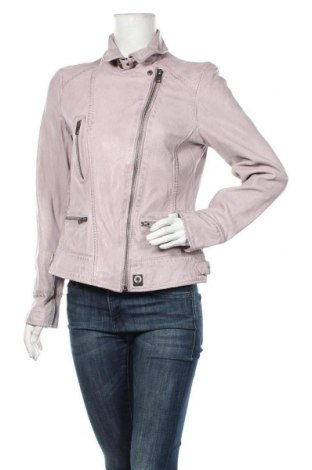 Дамско кожено яке Oakwood, Размер L, Цвят Розов, Естествена кожа, Цена 245,07лв.