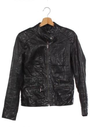 Дамско кожено яке Zero, Размер XS, Цвят Черен, Естествена кожа, Цена 80,85лв.