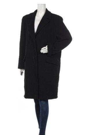 Dámský kabát , Velikost L, Barva Černá, 70% vlna, 20% polyamide, 10% kašmír , Cena  770,00Kč