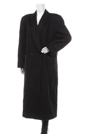 Dámský kabát , Velikost L, Barva Černá, Vlna, Cena  689,00Kč